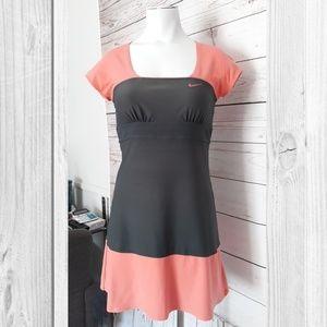 Nike Gray & Peach Tennis stretch Dress